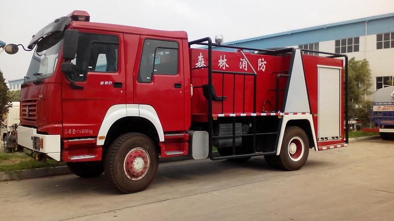 程力威重汽森林消防车